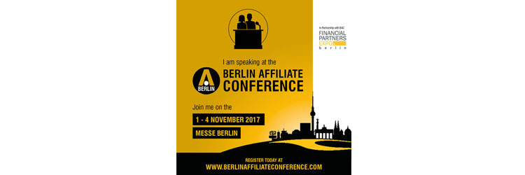 Optimizer is coming to the Berlin Affiliate Conference